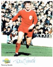 Tommy Smith Autograph Signed Photo - Liverpool